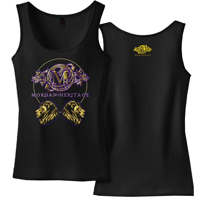 Morgan Heritage Ladies Black Tank