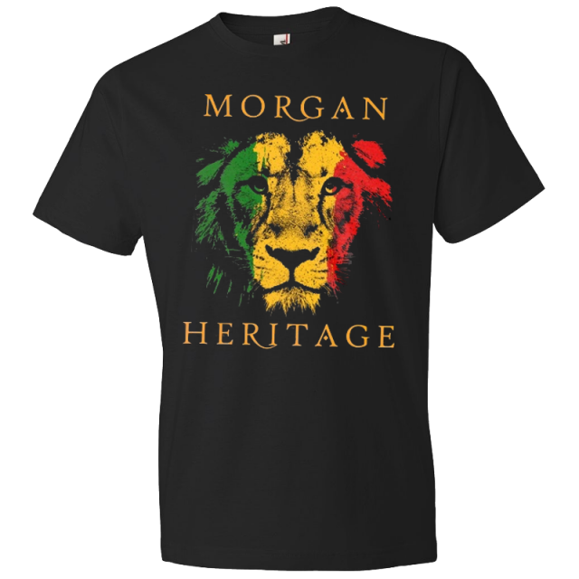 Morgan Heritage Black Lion Tee